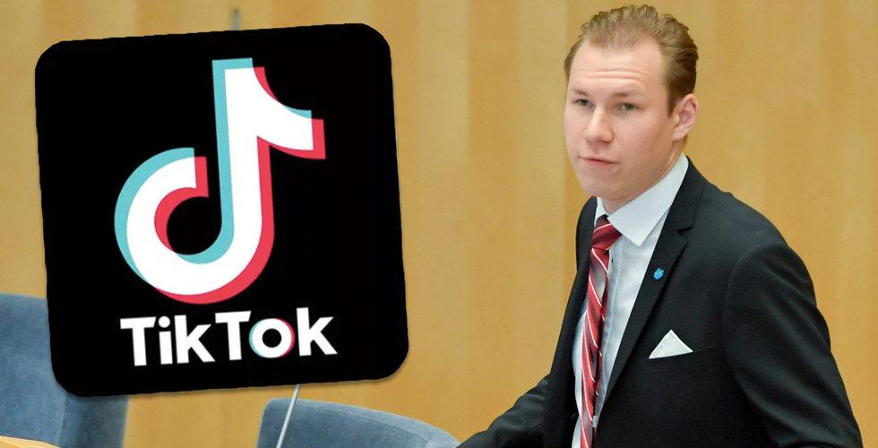 Tiktok utreds i USA – Svenska politiker är oroliga