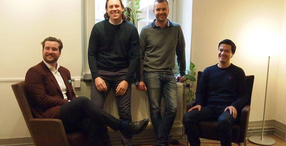 Bollar idéerna med ABBA-stjärna – nu ska golfappen erövra världen