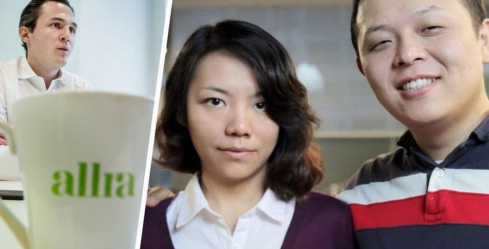 Breakit - Svensk-kinesisk startup indragen i Allra-härvan – aktier beslagtagna av kronofogden
