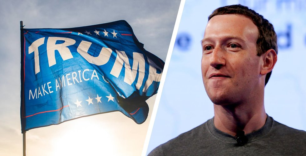 Facebook tog bort Trump-inlägg om covid-19