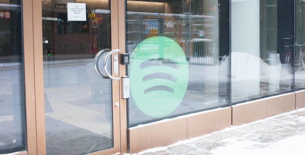 Breakit - Vi gick förbi Spotifys kontor (och där hände inte så mycket)