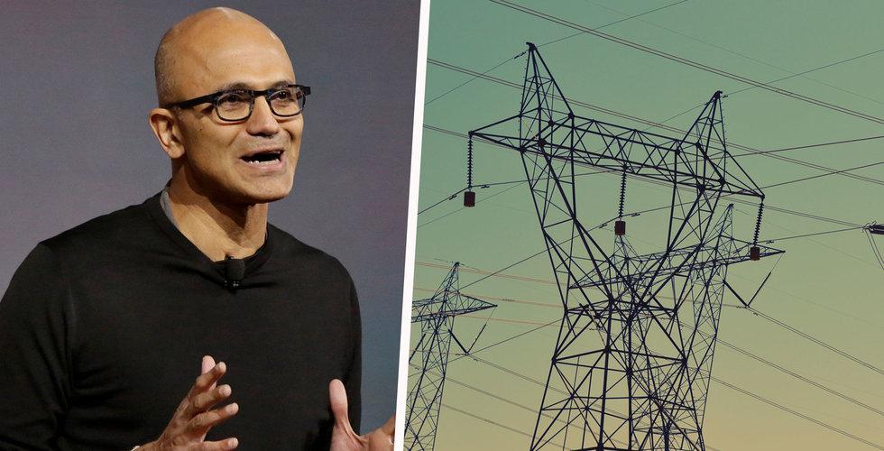 Microsofts jättesatsning i Sverige kan dröja 10 år – elnätet måste byggas ut