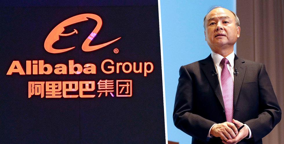 Masayoshi Son lämnar Alibabas styrelse