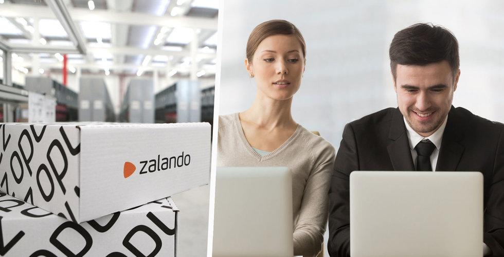 Zalando höjer helårsutsikter efter starkt tredje kvartal