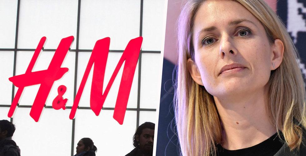 H&M:s försäljning rasade med 57 procent under krisen