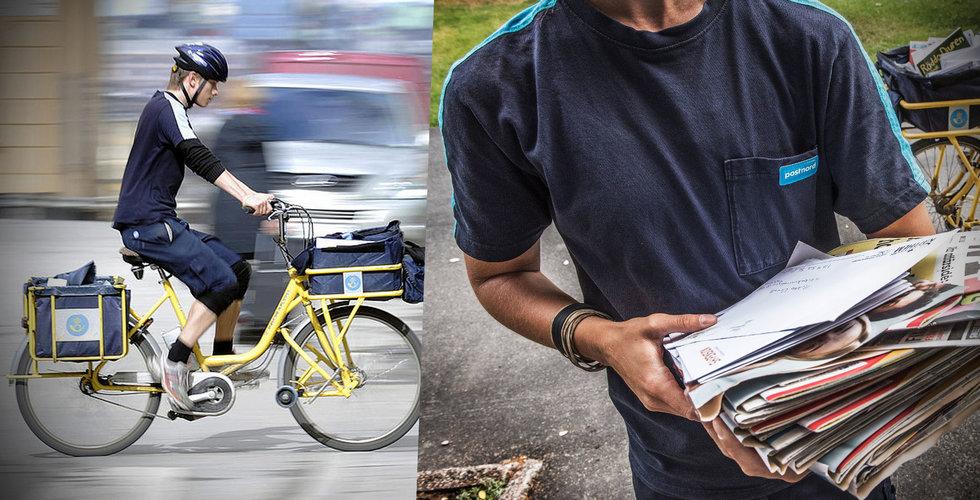Nöbbelöv först ut – får testa postutdelning varannan dag