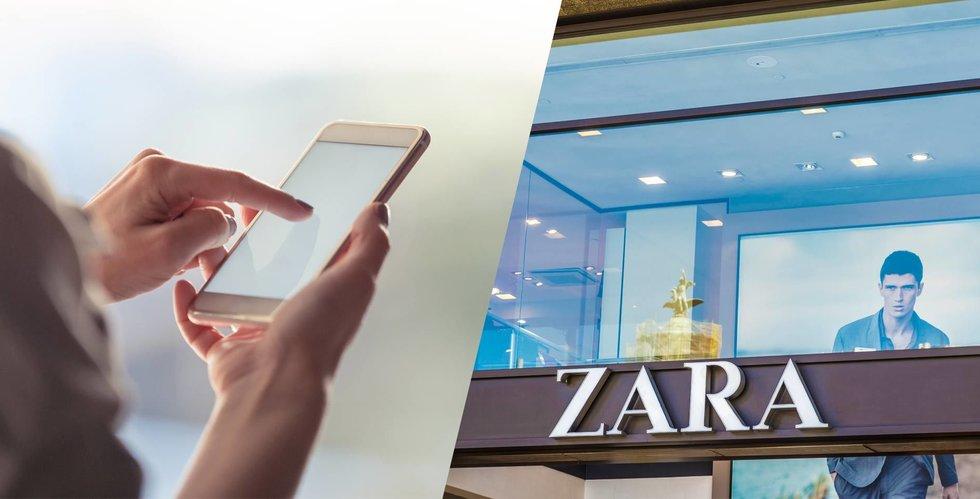 Breakit - H&M-konkurrenten Inditex som äger Zara ökar kraftigt på nätet
