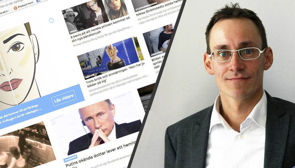 Strossle vill hjälpa medierna att ta tillbaka makten från Facebook