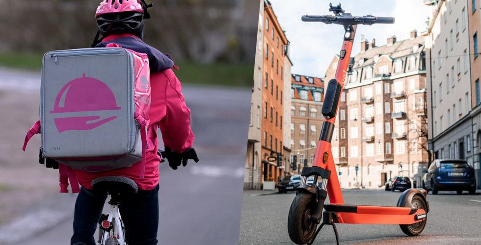 Foodora samarbetar med Voi – byter cyklar mot elsparkcyklar