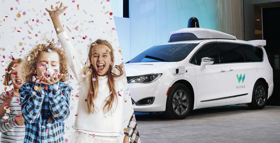 Nu får självkörande bilar skickas ut utan förare i Kalifornien