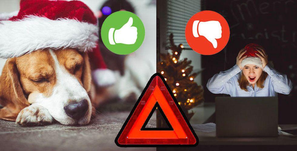 Få en fröjdefull julhelg – genom att undvika 4 klassiska fällor
