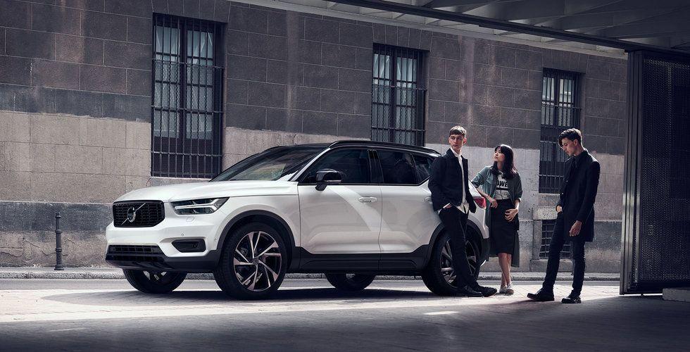 Breakit - Nya Volvo XC40: bilen du kan abonnera på och dela med dig av genom en app