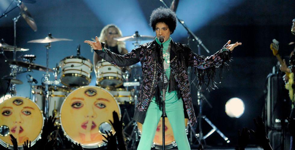 Prince petar Spotify och Apple Music – finns bara på Tidal