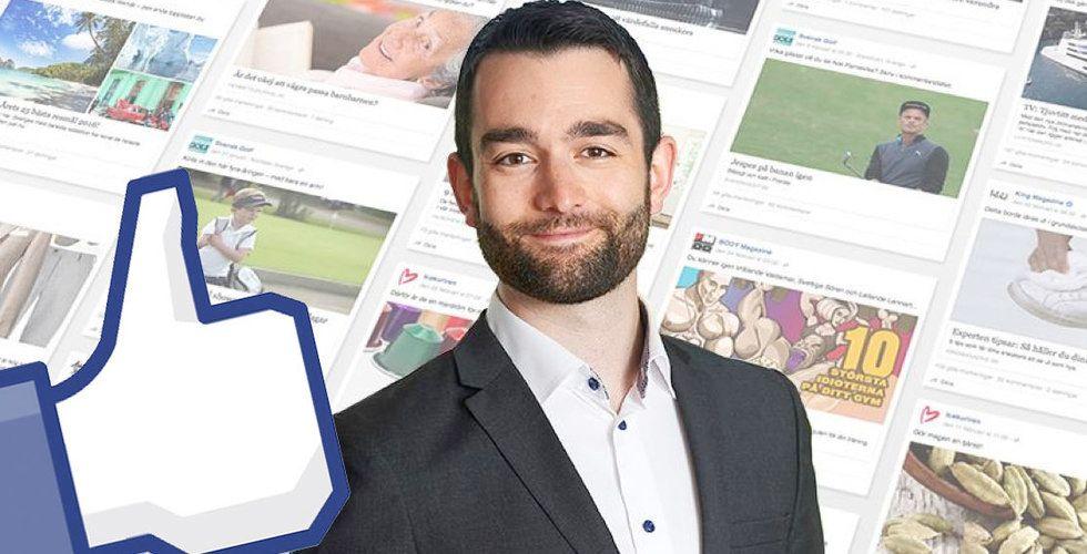 John Severinson ska få medierna att älska Facebook