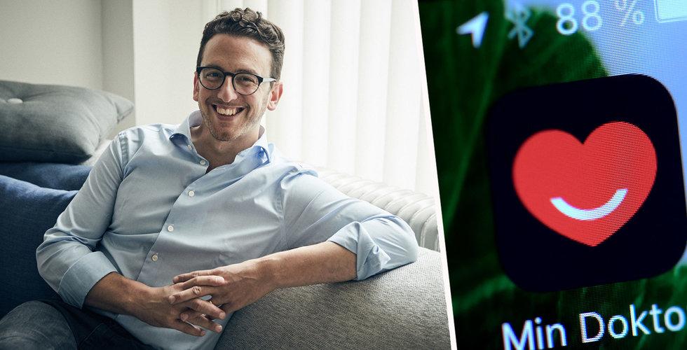 Min Doktor satsar på Europa – startar nya företaget Docly