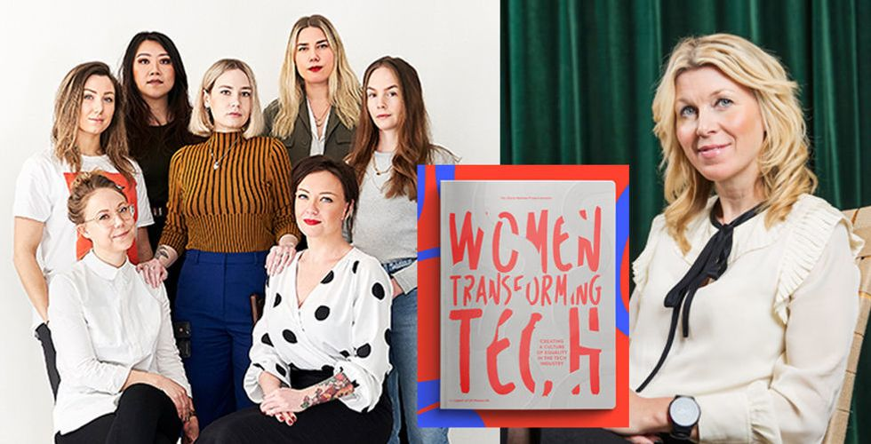 """De släpper bok om kvinnor i techbranschen: """"Vi måste förändra bilden"""""""
