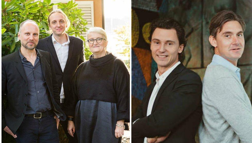 Jonas Nordlander och Filip Engelbert in i Blank spot project