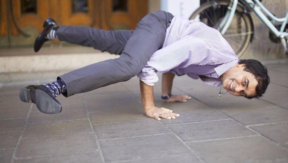 Gopi Kallayil har gjort yoga till ett beroende på Googles högkvarter