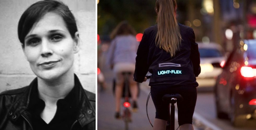 Breakit - Hennes startup får dina kläder att lysa i mörkret – fyller på kassan