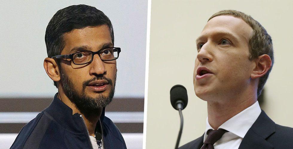 Google stäms – påstås ha hemligt annonssamarbete med Facebook