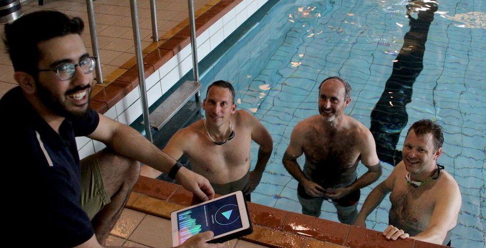 """Breakit - """"Swimlap är ungefär som Facebook fast du följer simmare"""""""