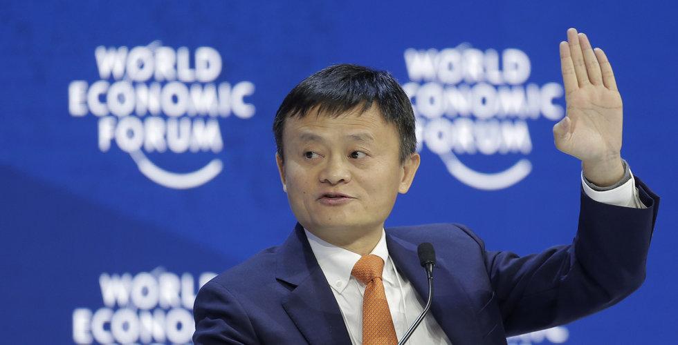 Alibaba-chefen förnekar neddragningar