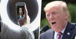 """Trump förbjuder Tiktok: """"Måste vidta aggressiva åtgärder"""""""