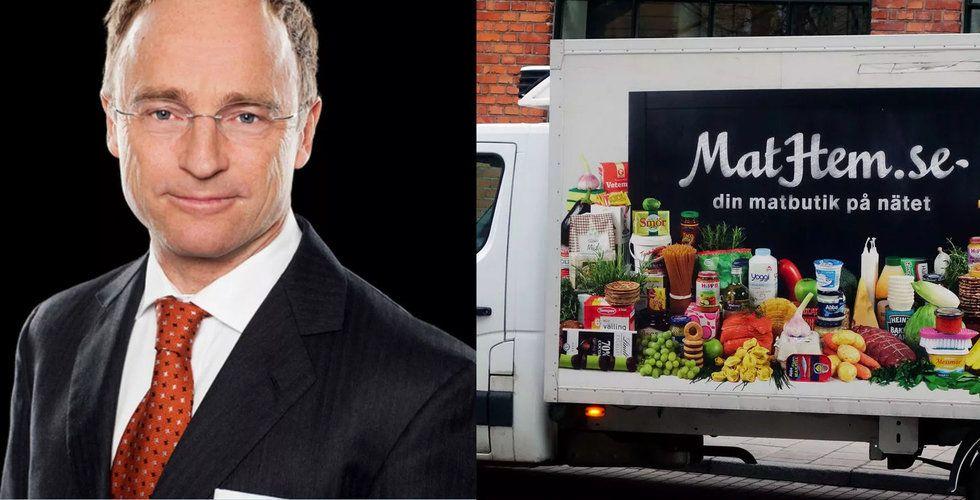 Erik Mitteregger lämnar Mathems styrelse