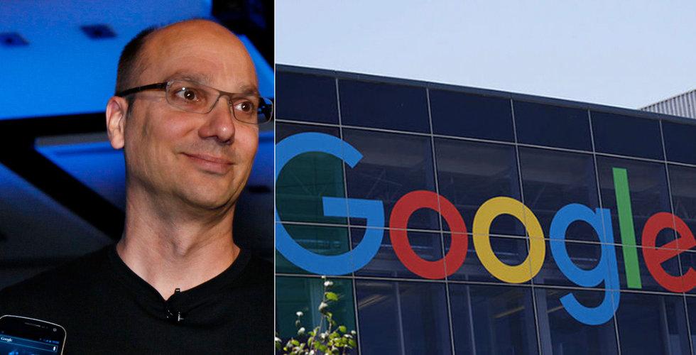 Uppgifter: Google betalade Andy Rubin hundratals miljoner och tystade ned anklagelser