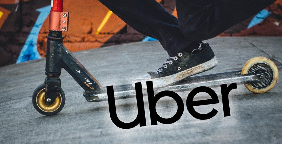 Uber satsar på självkörande elcyklar och scootrar