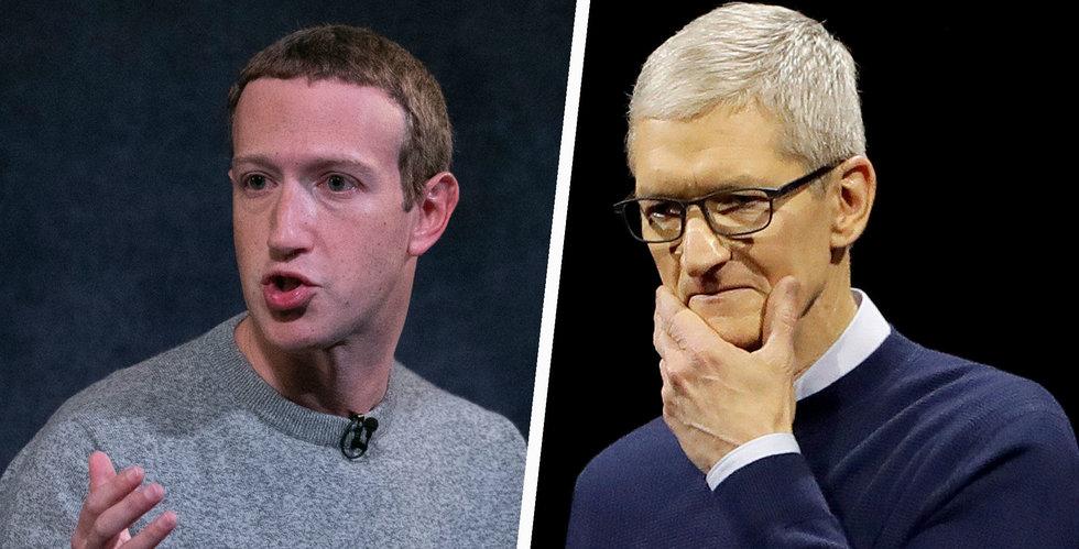 Zuckerberg till attack mot Apple: De utnyttjar sin position
