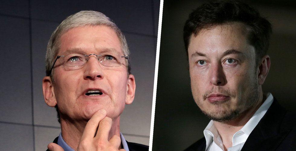 Tesla pekas ut som potentiell tillverkningspartner för Apple