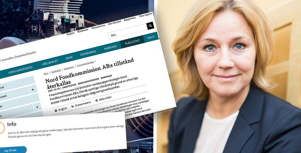 Anna-Lena Wretman, vd på Fundler. Foto: Press/Faksimil/Montage