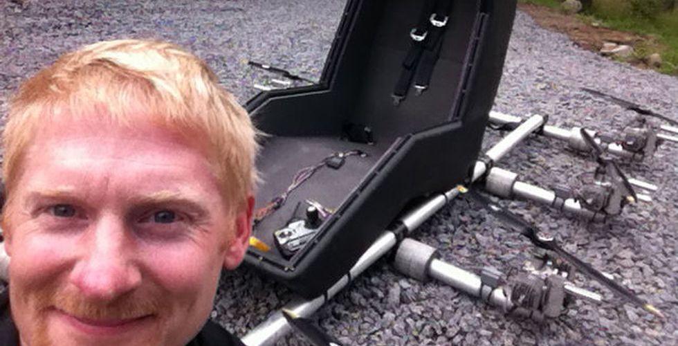 Breakit - Han är svensken som byggde en persondrönare hemma i garaget
