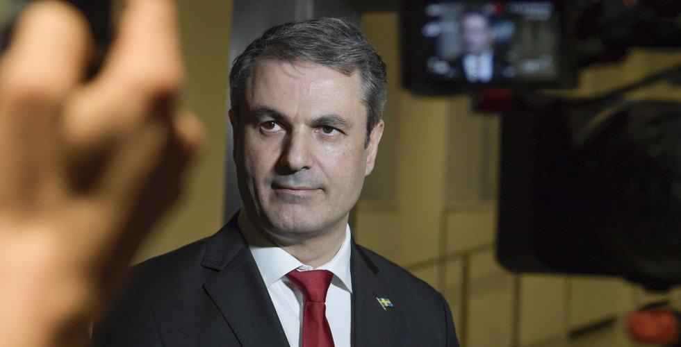 Näringsminister Ibrahim Baylan lämnar politiken