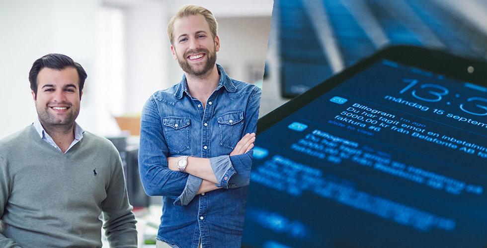 Fakturaslaktaren Billogram värderas till närmare 300 miljoner kronor