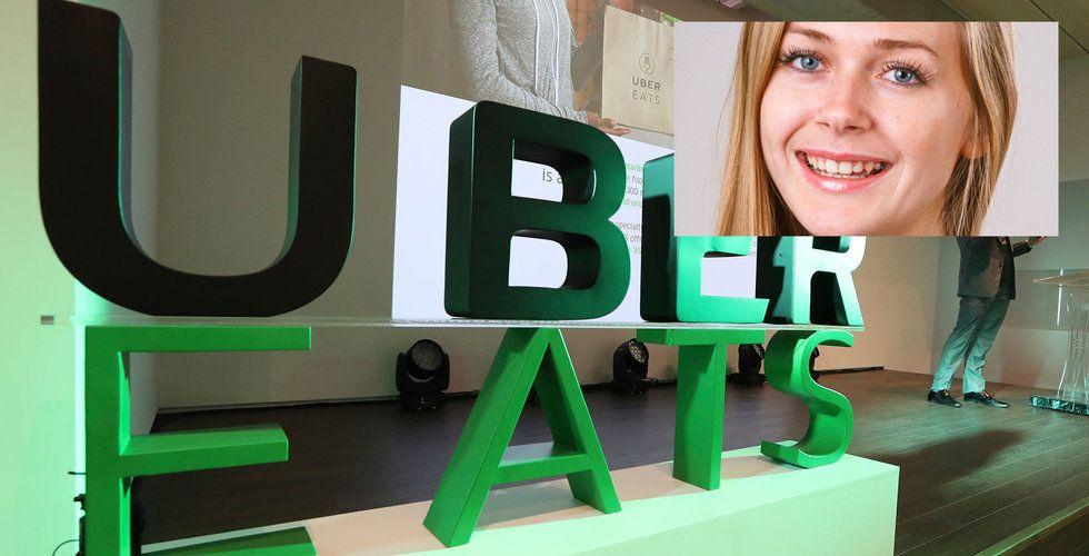 """Uber Eats: """"Våra cykelbud tjänar nu 110 kronor i timmen"""""""