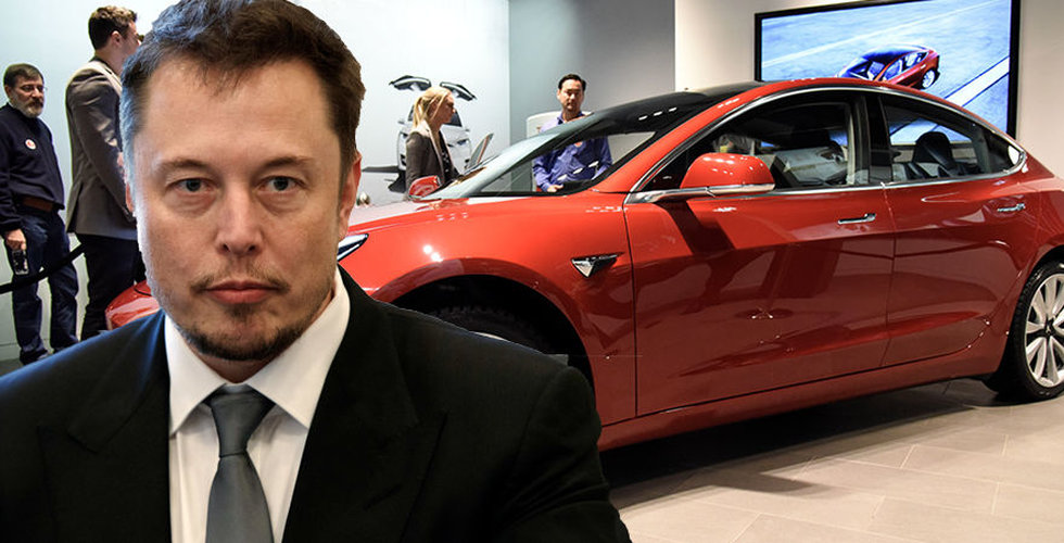 Elon Musks löfte: Tesla Model 3 blir 100 procent vegansk