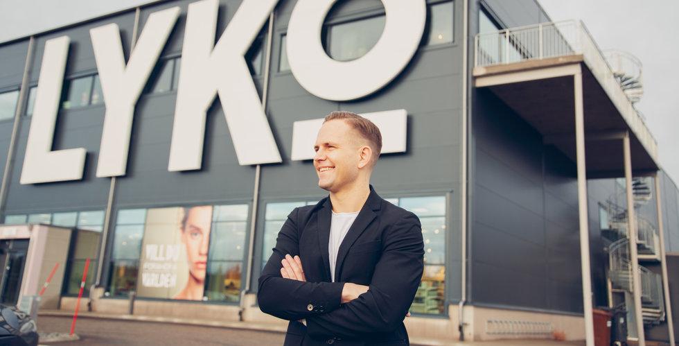 Lyko lägger i nästa växel i Finland