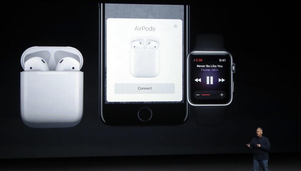 Här är de nya prylarna från Apple – Iphone 7 får trådlösa hörlurar