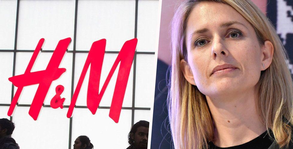 Var femte H&M-butik fortfarande stängd