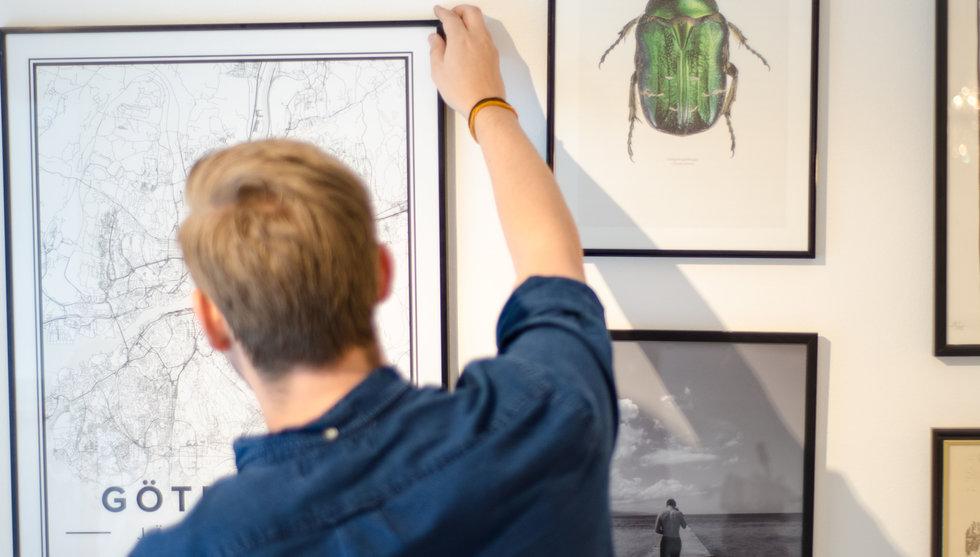 Open Street Maps kartor som affischer – svensk hobbyidé blev miljonaffär