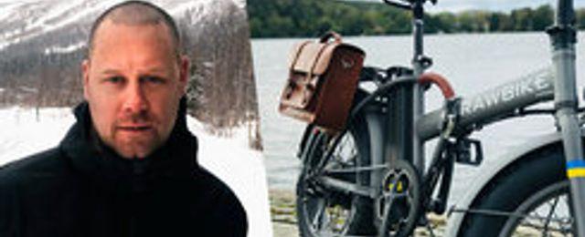 Andreas Falck slutade dagjobbet för att satsa på Rawbike – nu väntar Europa