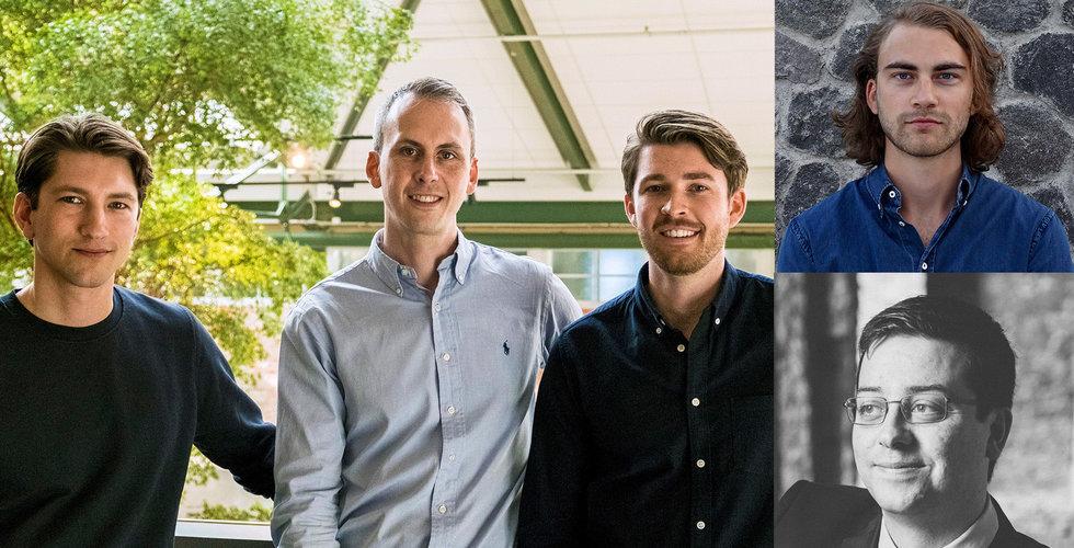 Hedvig plockar toppchefer från Spotify och Izettle