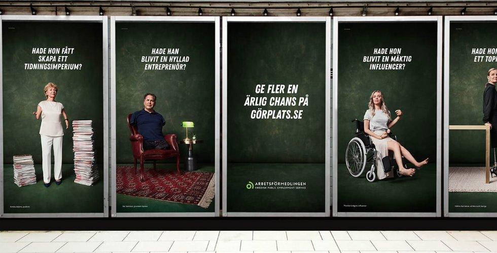 Influencern Natalie Eriksson riktar skarp kritik mot Arbetsförmedlingens nya reklamkampanj