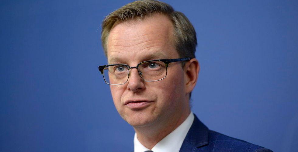 Breakit - Ta chansen att ställa startup-ministern Mikael Damberg mot väggen