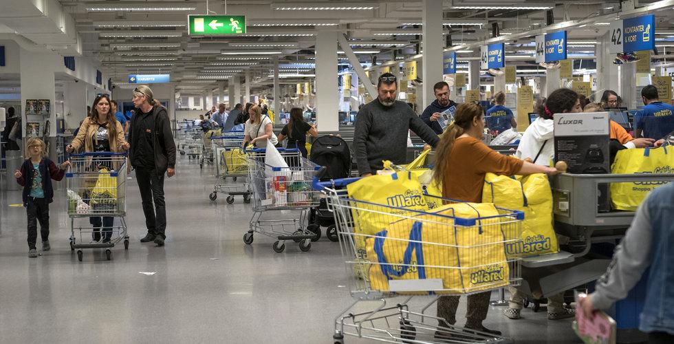 """Handels larmar: """"För trångt i butikerna"""""""