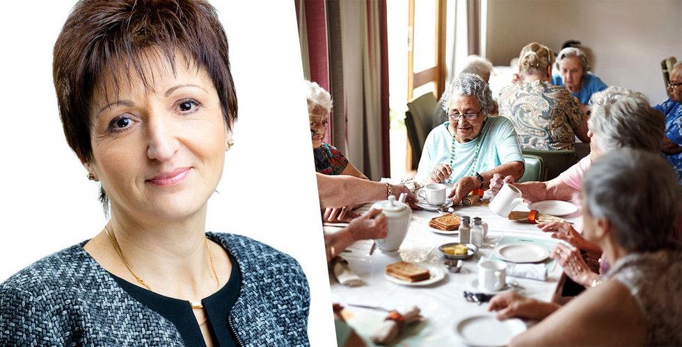 Visuecare ska effektivisera äldreomsorgen – slukas av Tieto