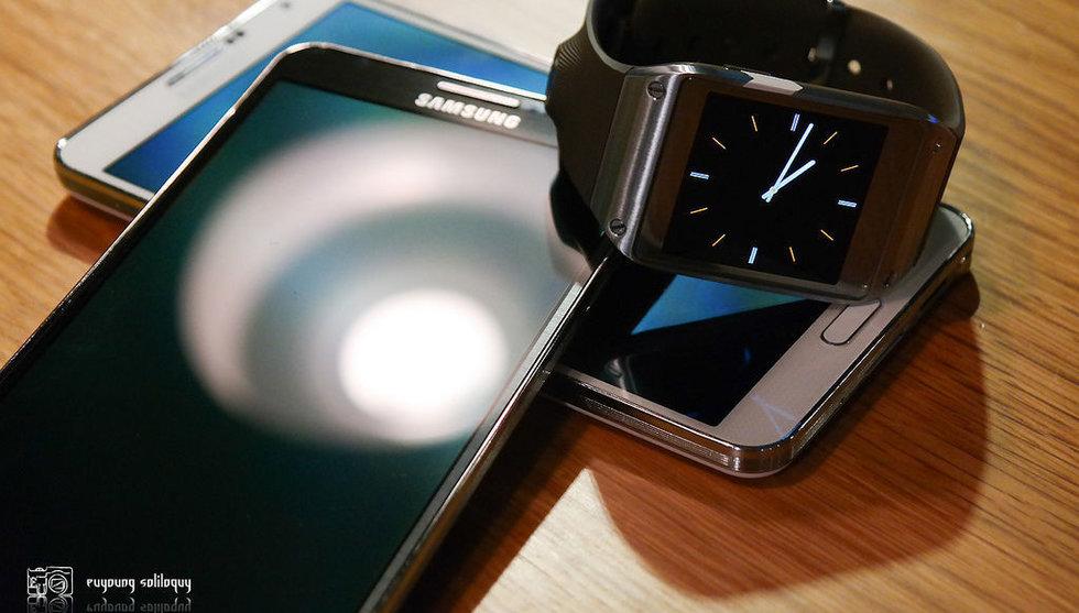 Breakit - Samsung fortfarande mobiletta - men vinsten krymper