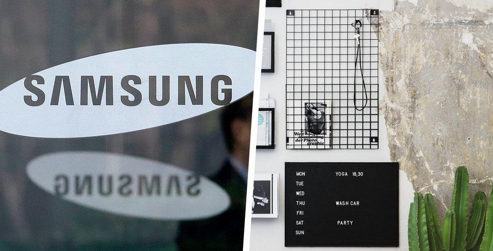 Samsung tar Granit till Sydkorea – öppnar butik i Seoul redan i höst
